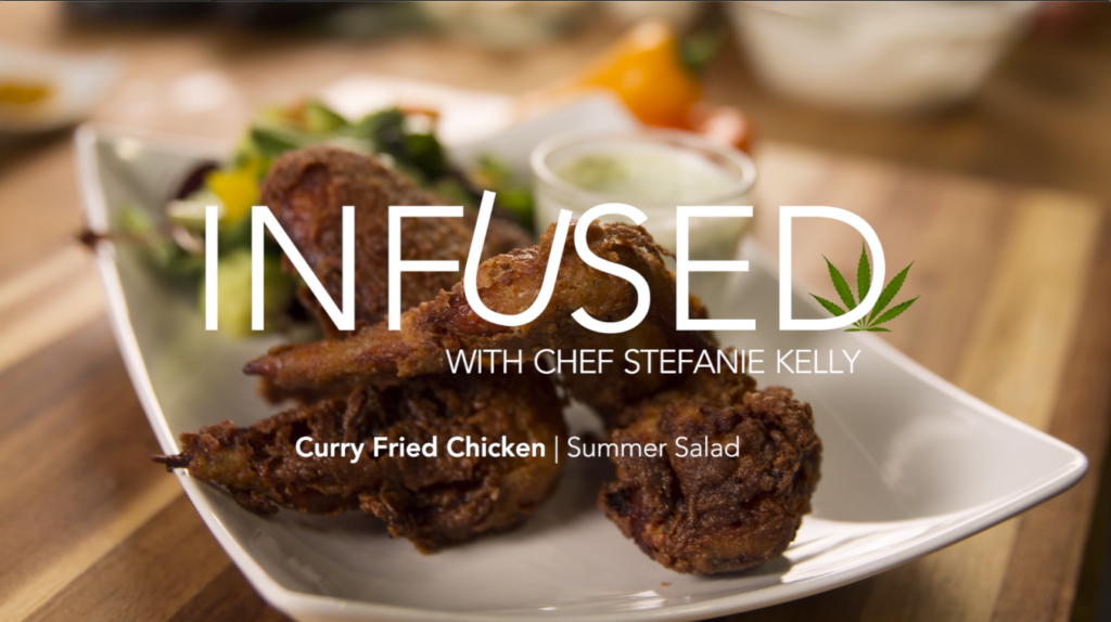Infused.tv - Curry Fried Chicken